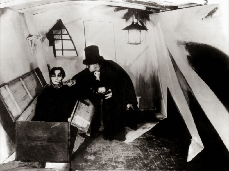 Robert Krasker was very much inspired by german expressionist films like Das Cabinet des dr.Caligari (1920)