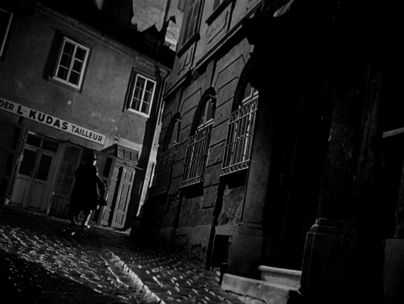 One of the many great dutch-angled shots in The Third Man (1949)