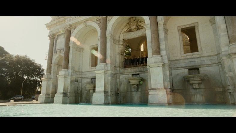 La Grande Bellezza juxtaposes the serene classical beauty of rome...