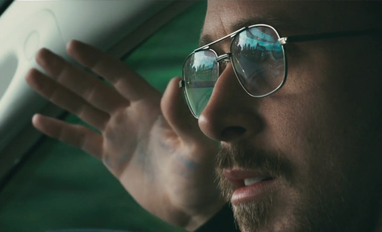 ...whereas the digitally shot scenes are tightly framed and colder in atmosphere.